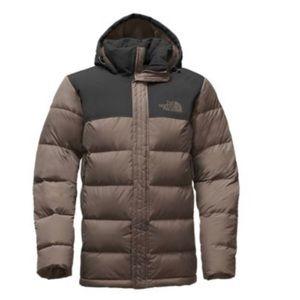 North Face Mens Nuptse Ridge Parka Jacket